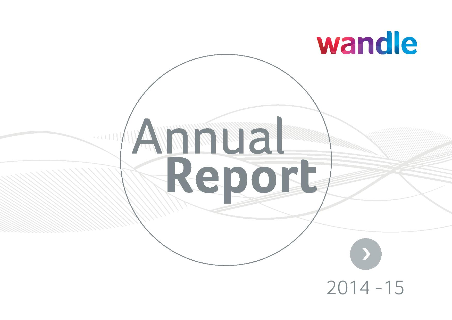 Wandle Annual Report 2014/15