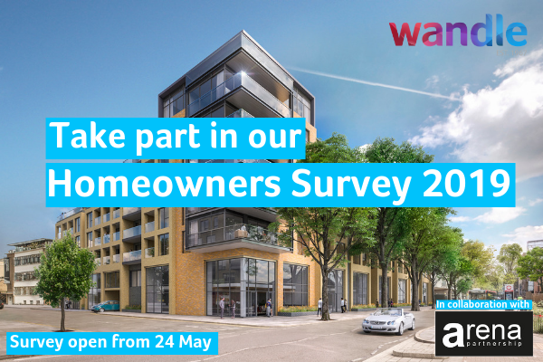Take part in our Homeowners Survey 2019. Survey open from 24 May. In collaboration with arena partnership.