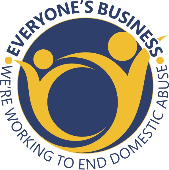 Everyone's Business working to end domestic abuse logo